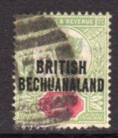 Bechuanaland 1891-4 2d Green & Carmine Overprint On GB, Used, SG 34 (BA2) - Bechuanaland (...-1966)