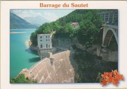 38 Barrage Du Sautet - Cpm / Vue. - France