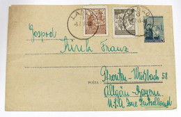 Yugoslavia 422-4 - Lettres & Documents
