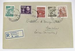 Yugoslavia 422/4-6-9 - Lettres & Documents