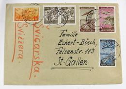 Yugoslavia 422(2)-71+Aéreo 17/9 - Lettres & Documents