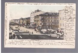 St Petersbourg Perspective De Nevsky 1901 OLD POSTCARD - Russia