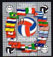 YUGOSLAVIA 1998 Volleyball Silver Medal Block MNH / **.  Michel Block 48 - Blocs-feuillets