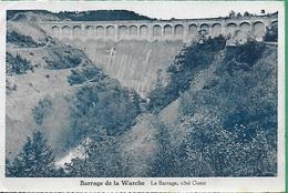 ! - Belgique - Amblève - Barrage De La Warche, Coté Ouest - Amblève - Amel