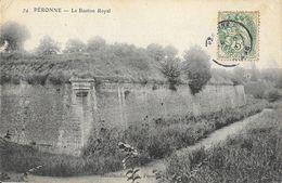 Péronne - Le Bastion Royal - Edition Marchandise - Carte N° 74 - Peronne