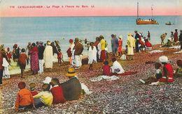 Cayeux-sur-Mer - La Plage à L'heure Du Bain 1930 - Carte LL Colorisée N° 118 - Cayeux Sur Mer