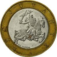Monnaie, Monaco, Rainier III, 10 Francs, 1992, TTB, Bi-Metallic, KM:163 - Monaco