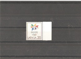 MNH Stamp Nr.474 In MICHEL Catalog - Lettonie
