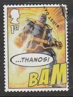 GB 2019 Marvel Comics 1st Multicoloured SW 4034 O Used (From Min Sheet) - 1952-.... (Elisabeth II.)