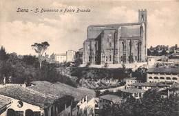 Siena - S Domenico E Fonte Branda - Siena