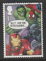 GB 2019 Marvel Comics 1st Multicoloured SW 4035 O Used (From Min Sheet) - 1952-.... (Elisabeth II.)