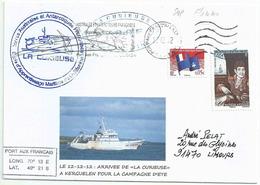 YT 522 - Henri Paschal De Rochegude - Arrivée De La Curieuse à Kerguelen - Oblitération Satas De Port Aux Français - Terres Australes Et Antarctiques Françaises (TAAF)