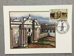 Carte Maximum Espagnol De 1977, Eglise De San Francisco - Eglises Et Cathédrales