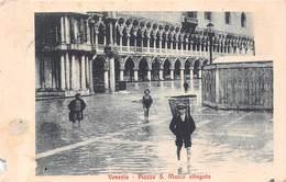 Venezia Venice - Piazza S Marco Allagata - Venezia (Venice)