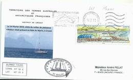 YT 600 - Baie Du Marin - Oblitération Satas D'Alfred Faure - Crozet - Orque - Terres Australes Et Antarctiques Françaises (TAAF)
