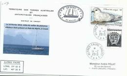 YT 534 - Petrel Des Neiges - Alfred Faure - Crozet - Terres Australes Et Antarctiques Françaises (TAAF)