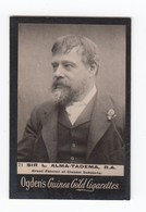 Ogdens Cigarette Card No 71 Sir L Alma-Tadema Great Painter Of Classic Subjects - Tobacco (related)