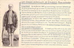 Pierre De Rudder Ouvrier Belge De Jabbecke Un Des Grands Miraculés De LOURDES En 1875 - Ohne Zuordnung