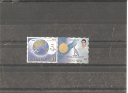 MNH Stamp Nr.534 In MICHEL Catalog - Lettonie