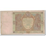 Billet, Pologne, 50 Zlotych, 1929, 1929-09-01, KM:71, TB - Pologne