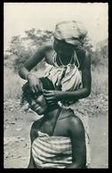 ANGOLA -COSTUMES - Tipos Indigenas. ( Ed. Quitos)  Carte Postale - Angola