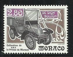 MONACO , 2.80 Frs , Collection De Voitures Anciennes De S.A.S. Rainier III , 1994 , N° YT 1942 , NEUF ** - Neufs