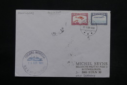 DANEMARK - Enveloppe Par Bateau ( M.S. Wiston Churchill )  En 1988 Pour Koln , , Affranchissement Plaisant - L 25285 - Cartas