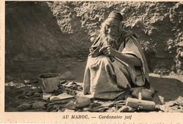 Au Maroc, Cordonnier Juif - Non Classés