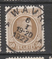 COB 203 Oblitération Centrale WAVRE Dispersion D'un Ensemble Houyoux Oblitération Concours - 1922-1927 Houyoux