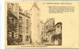 """CPA Nantes Ancien Etude Rétrospective N° 75 """"L Ancien Mont- De-Piété ( Place St Vincent)"""" - Nantes"""