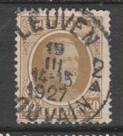 COB 203 Oblitération Centrale LEUVEN 2 Dispersion D'un Ensemble Houyoux Oblitération Concours - 1922-1927 Houyoux