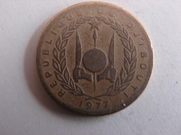 10 FRANCS 1977. - Dschibuti