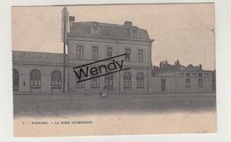 Diksmuide (la Gare Extérieure 1906) Uitg. Bertels N° 1 - Diksmuide