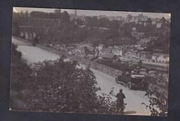 Carte Photo Dinan ( Voiture Automobile Peugeot 126 Vue Panoramique ) - Dinan