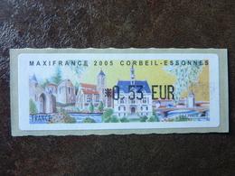 2005 LISA1 MAXIFRANCE CORBEIL-ESSONNES  0,53€ (vendue à La Valeur Faciale)  ** MNH - 1999-2009 Vignettes Illustrées