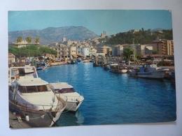 """Cartolina Viaggiata """"TERRACINA  Zona Del Porto"""" 1992 - Italia"""