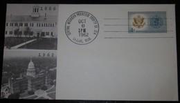 Enveloppe  Avec Timbre Premier Jour - USA - 1886-1962 - Michigan 6 Oct 1962 - 4 Cent World United Against Malaria - Enveloppes évenementielles