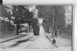 FONTENAY AUX ROSES  N 15  AVENUE DE SCEAUX  TRAMWAY      DEPT 92 - Fontenay Aux Roses
