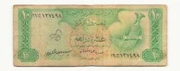 Emirats Arabes Unis Billet De 10 Dirhams - Emirats Arabes Unis