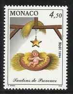 MONACO , 4.50 Frs , Noel , Santons De Provence , L' Enfant Jésus , 1994 , N° YT 1958 , NEUF ** - Neufs