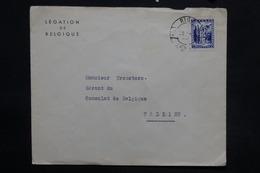LETTONIE - Enveloppe Du Consulat De Belgique à Riga Pour Tallin En 1940, , Affranchissement Plaisant - L 25287 - Lettonie