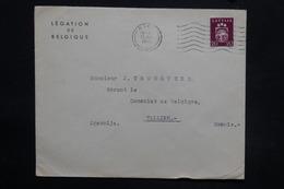 LETTONIE - Enveloppe Du Consulat De Belgique à Riga Pour Tallin En 1940, , Affranchissement Plaisant - L 25288 - Lettonie