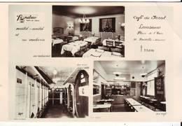 CPA - LAUSANNE - Café Du Jorat  - Multivues - VD Vaud