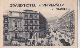NAPOLI GRAND'HOTEL UNIVERSO  AUTENTICA 100% - Napoli (Naples)