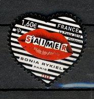 France 2018 - Oblitéré Used - Y&T N° 5199 - Coeur Sonia Rykiel - S'aimer - France