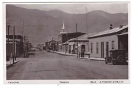CHILI - TOCOPILLA - Calle Prat (carte Photo Animée) - Chili