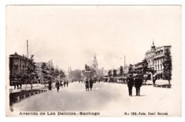 CHILI - SANTIAGO - Avenida De Las Delicias (carte Photo Animée) - Chili