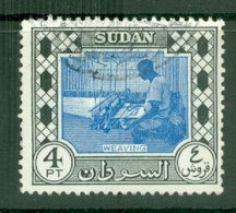 Sdn: 1951/61   Pictorial   SG133    4P  Ultramarine & Black   Used - Sudan (...-1951)