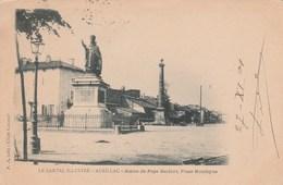 AURILLAC Statue Du Pape Gerbert Place Monthyon 624K - Aurillac