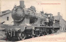 Les Locomotives  -  ETAT  -  Machine N° 221-107  - Cheminots - Chemin De Fer - Matériel